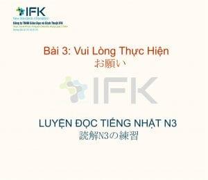 IFK nihongo N3 - hoc tieng nhat n3