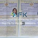 2 SINH VIÊN ĐỖ – CHƯƠNG TRÌNH THỰC TẬP ĐẠI HỌC HIU – IFK – KS OZE IWAKURA