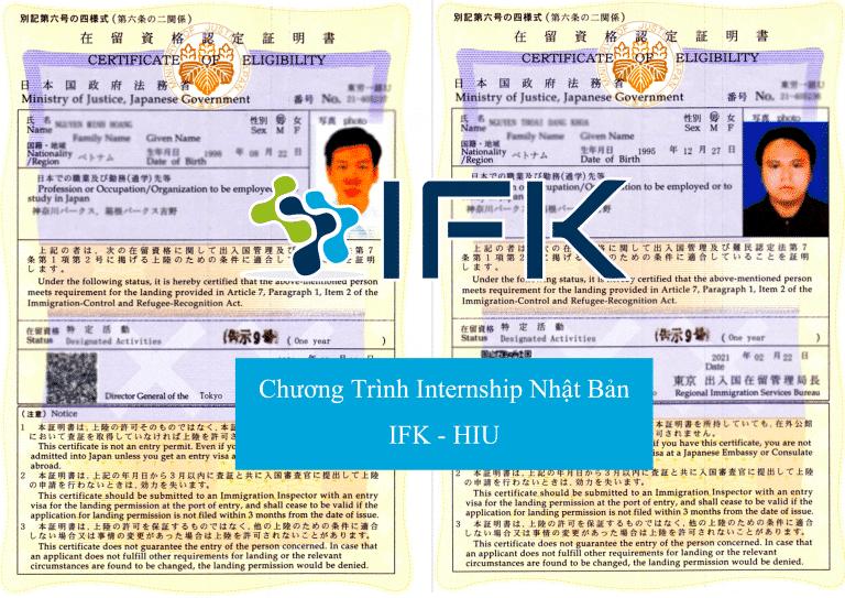 Chuong trinh internship tai Nhat Bản