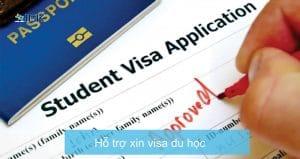 Hỗ trợ xin visa du học