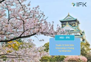Chương trình internship tại Nhật Tháng 12-2021