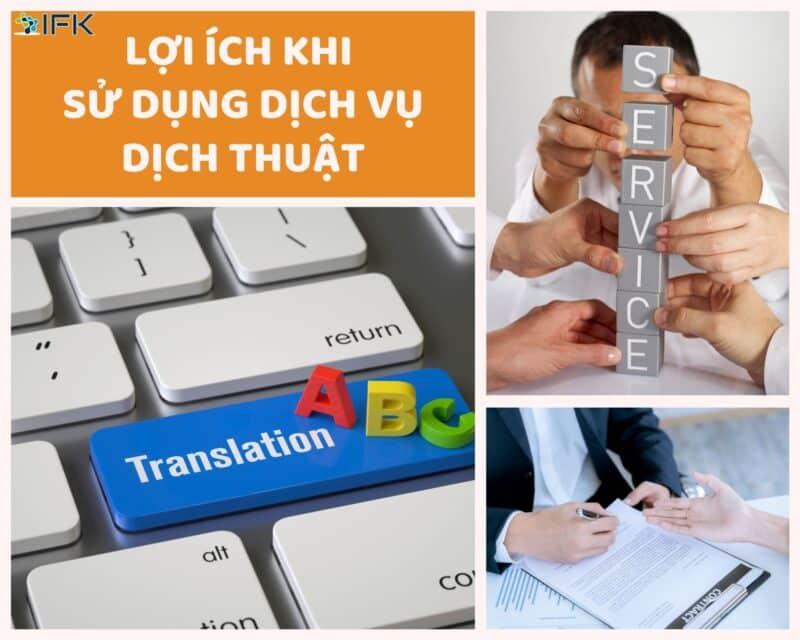 lợi ích khi sử dụng dv dịch thuật
